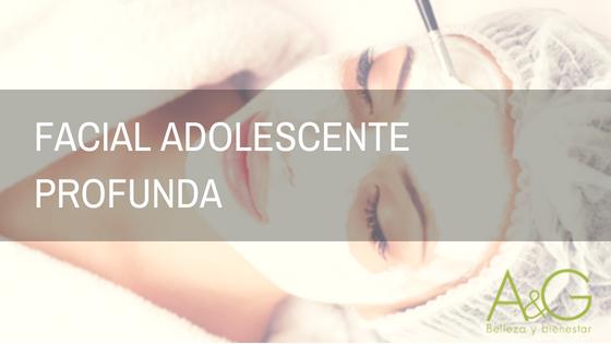 Facial Adolescente Profunda Murcia