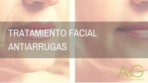Tratamiento facial antiarrugas Murcia