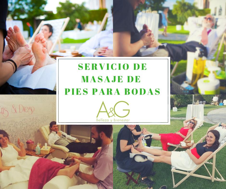 servicio de masaje para pies