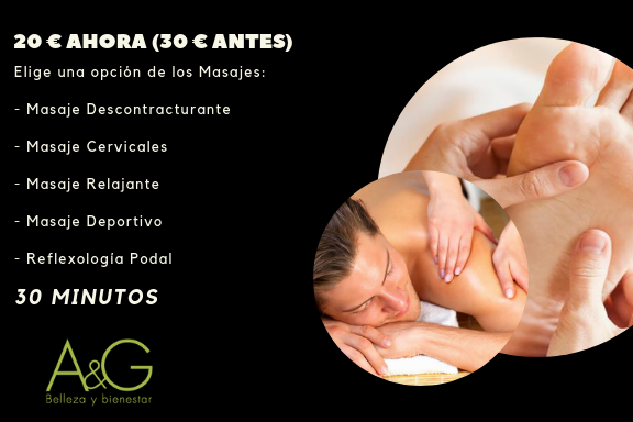 masaje de bienvenida, nuevos clientes en belleza y bienestar